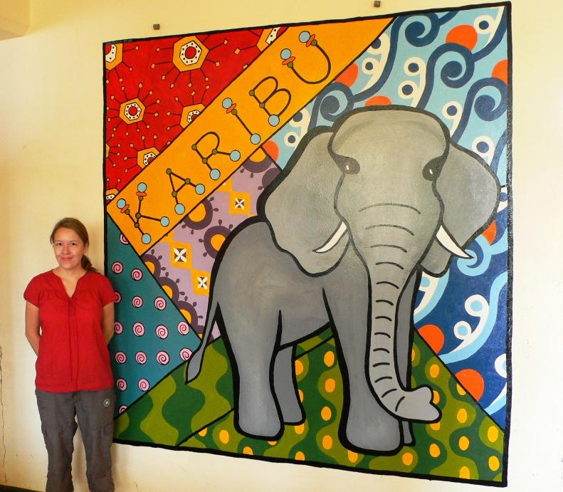 Libby Karibu Mural